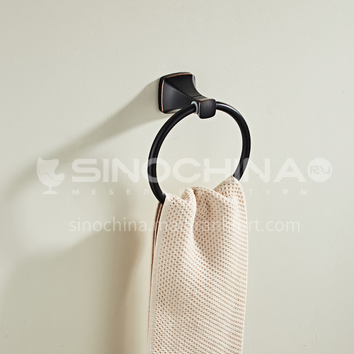 Black ancient ORB towel ring towel hanging rod towel hanging ring MY80805 black ancient ORB
