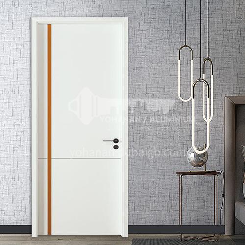 European modern style composite bridge dynamic board wooden door paint door15