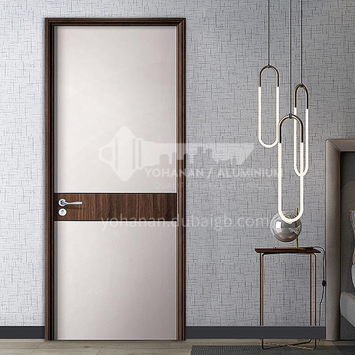 Custom composite bridge dynamic board soundproof interior bedroom bathroom door office room door wooden door18