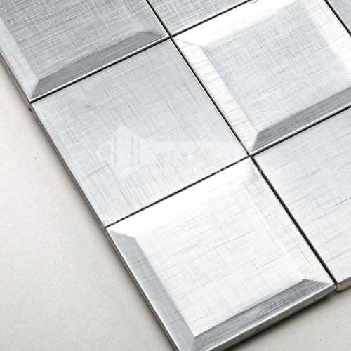 Aluminum Concave Square Metal Mosaic