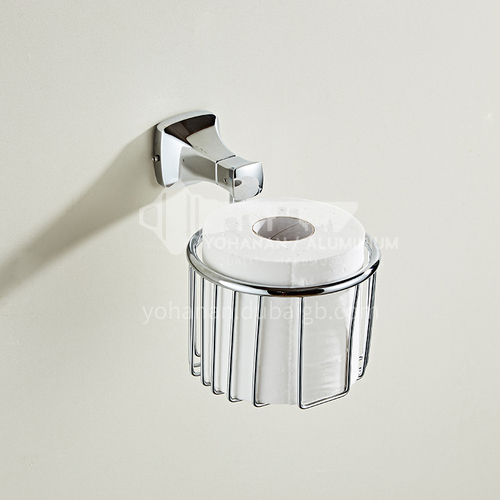 Stainless steel paper towel basket, bathroom paper towel rack, toilet rack, roll paper holder, drawer box MY toilet paper basket silver