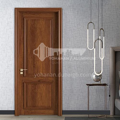 Classical style wood grain color water-based ink door villa interior room door51