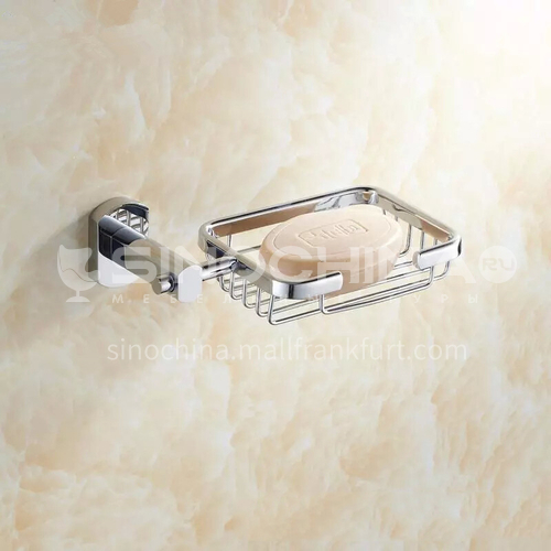 Bathroom silver soap rack soap basket