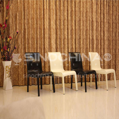 CL-B201 40 Density Sponge Chair with PU Leather Metal Inner Frame