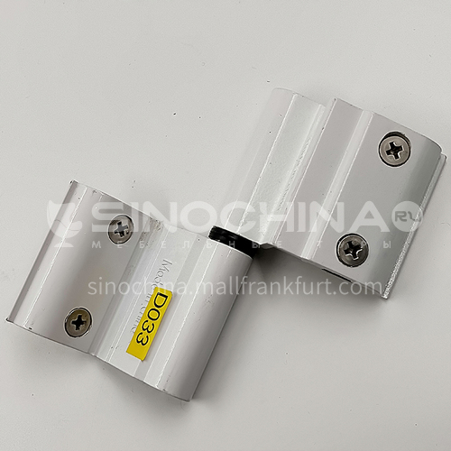 G Aluminum alloy door hinge is durable and strong D33
