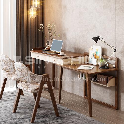 CL-ZS107 home office pine modern minimalist drawer desk