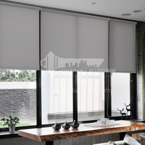 Modern minimalist style waterproof and mildew proof 70% blackout roller blind QW-JL004