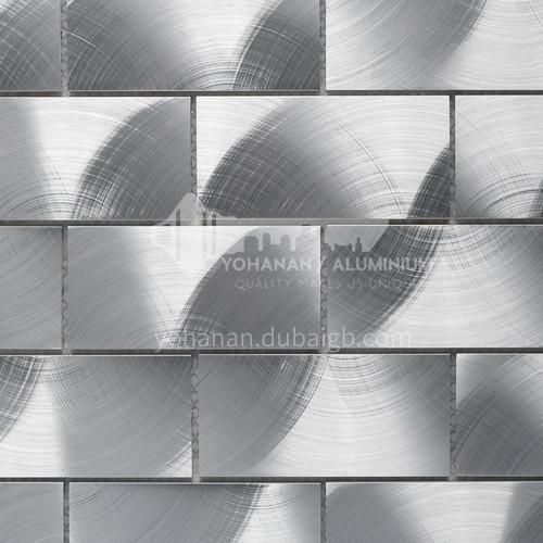 Aluminum CD Texture Metal Mosaic