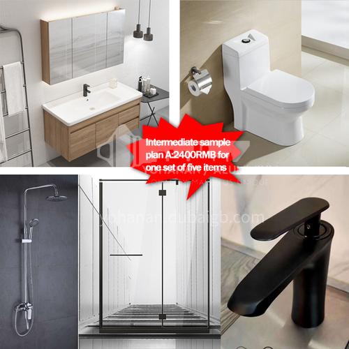 Sanitary ware intermediate sample package plan A