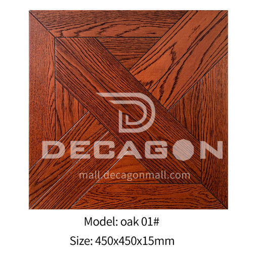 15mm multi-layer solid wood art parquet oak 01