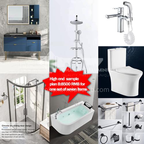 Sanitary ware sample package-Senior sample package Plan B
