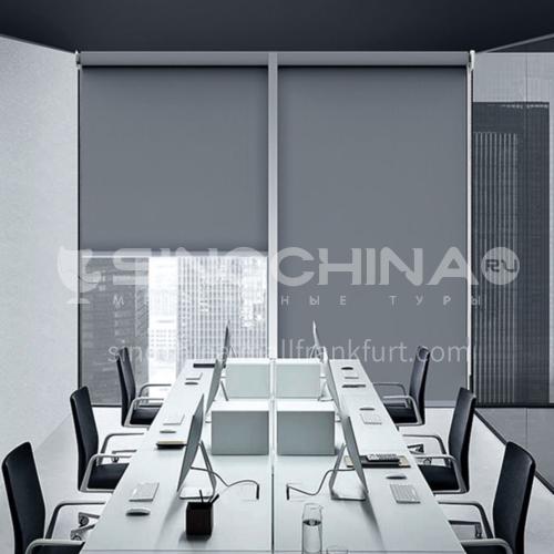 Modern minimalist style home office flame retardant 99% blackout roller blind QW-JL001