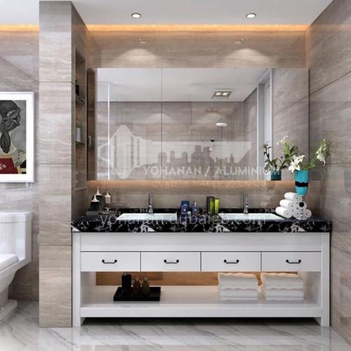 European style bathroom cabinet oak floor American style solid wood bathroom cabinet J8999-Empire