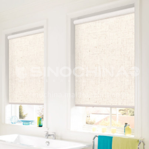 Office use modern style waterproof roller shutter QW-B full blackout sunshine fabric series