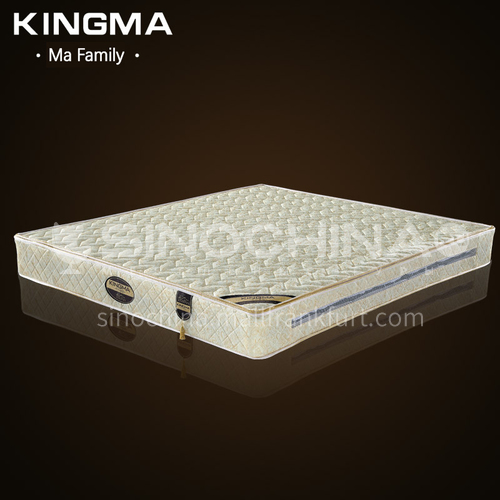 CL-S215- Imported knitted anti-mite fabric, 2CM Tianre Mountain Brown, stainless steel five-ring spring, high resilience foam mattress
