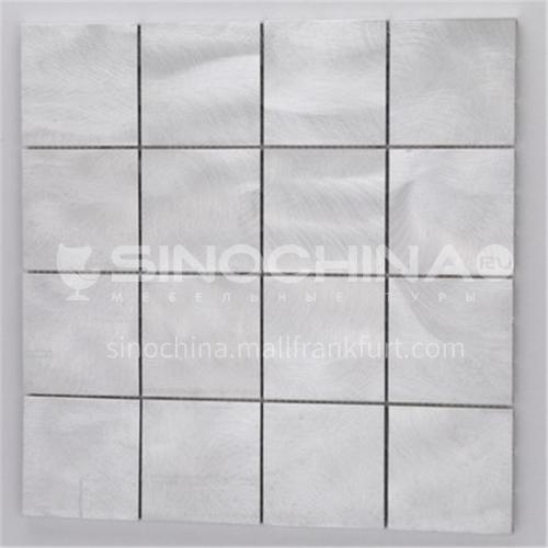 Aluminum (Silver Square) metal mosaic