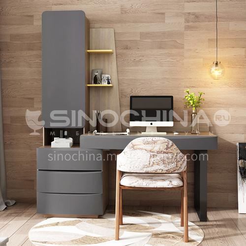 CL-KD007 Home office MDF veneer, desk with stainless steel feet