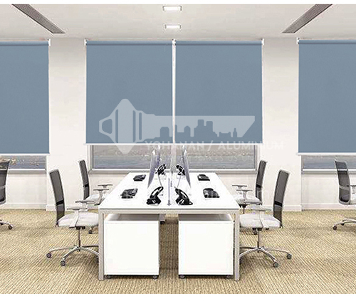 70% blackout modern minimalist style solid color office roller blinds waterproof and durable QW-JL005