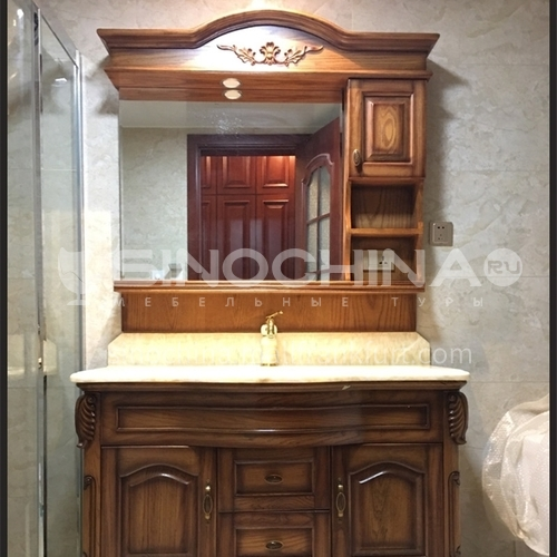 European style bathroom cabinet combination antique American style bathroom cabinet M-8975-Empire