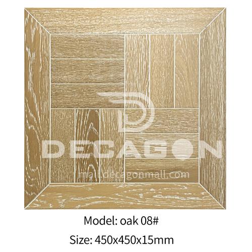 15mm multi-layer solid wood art parquet flooring oak08