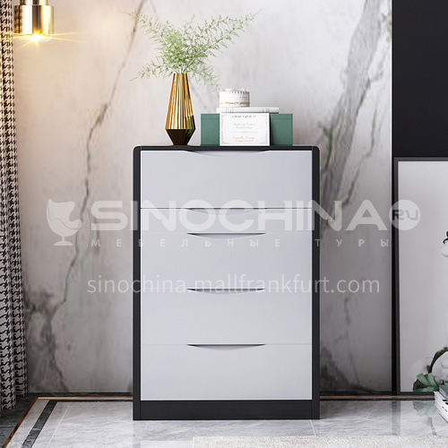 CL-TZ109- Light luxury simple style, high density board, mercury mirror, silent rail, light luxury dressing table