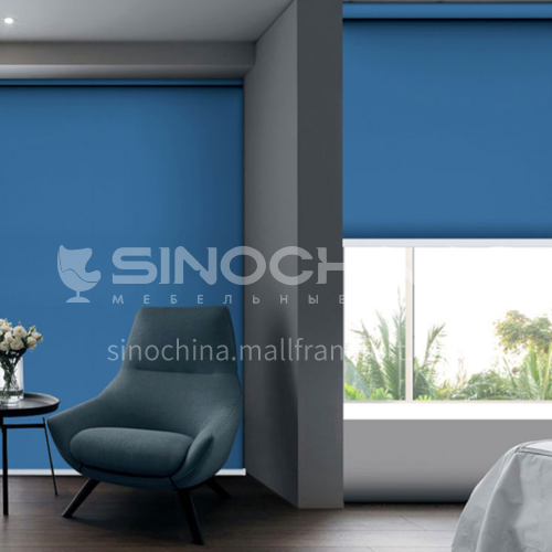 Modern minimalist style high quality 40& blackout roller blind QW-JL015