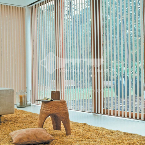 Modern minimalist style high-quality vertical curtain linen series SFCZ-MF
