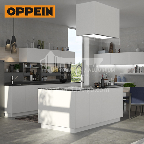 Modern design  UV lacquer with HDF kitchen cabinet-OP16-L18