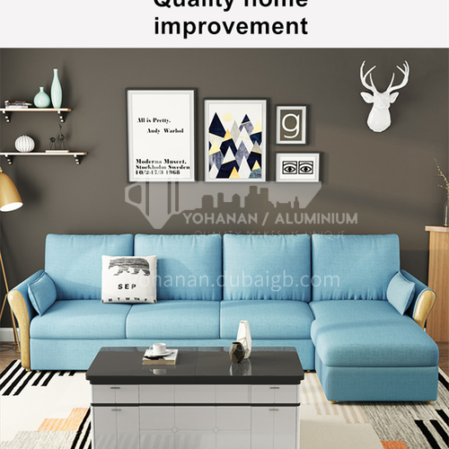 YT-8090 customer Nordic modern and simple sleepable sofa bed + multifunctional foldable + multiple color options + multiple size options