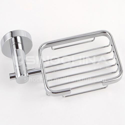 Bathroom silver stainless steel soap holder