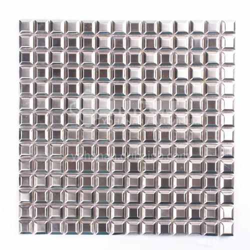 Aluminum Convex Square Metal Mosaic