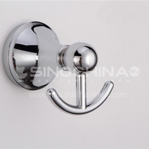 Stainless steel bathroom hook