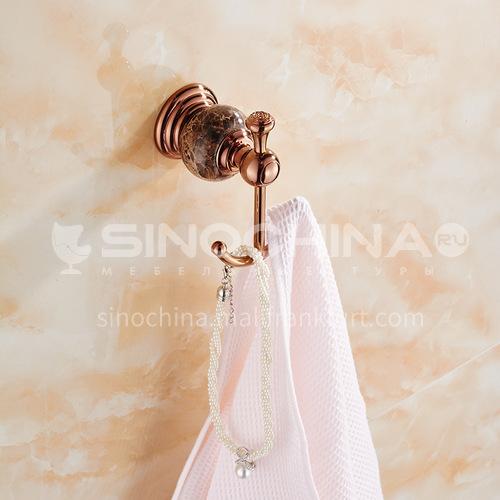 Bathroom rose gold stainless steel dress hook