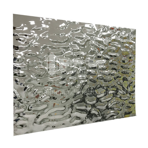 Stainless Steel Water Ripple Corrugated Plate #304