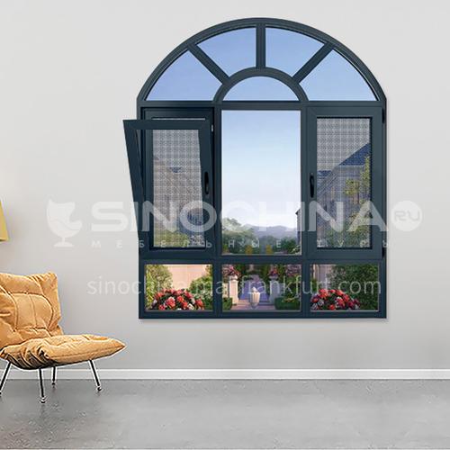 100 series  aluminum opening windows