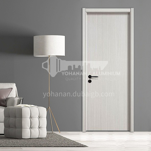Simple design mute paint-free reinforced door hotel apartment room door 49