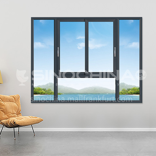 1.4mm 80 series aluminum alloy  sliding window