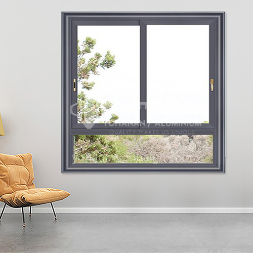1.4mm aluminum alloy two-track sliding window