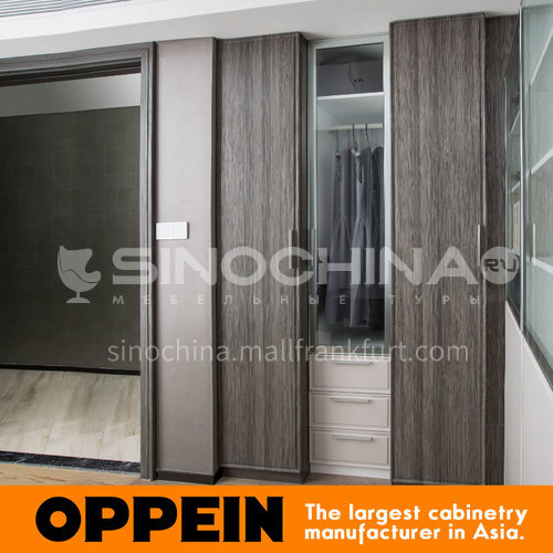 Modern design  UV lacquer with HDF wardrobe-PLYP17026-055