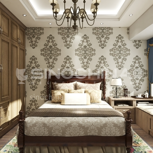 European style wallpaper wall decoration VV652&653&658
