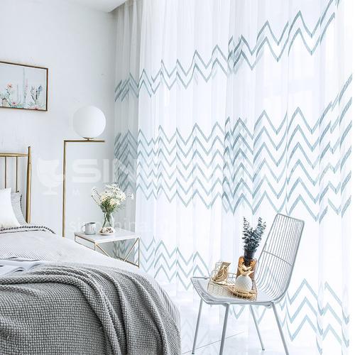 Nordic style white window screen DFSK-BLTWS28