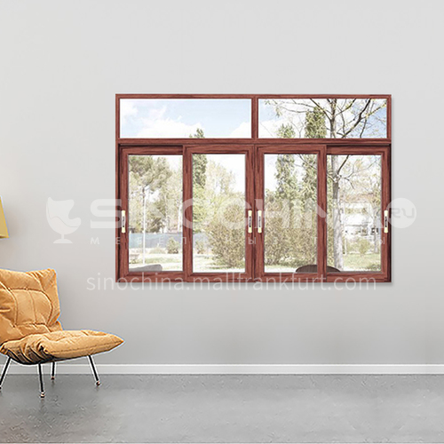 1.4mm Aluminum 2 track sliding window 2