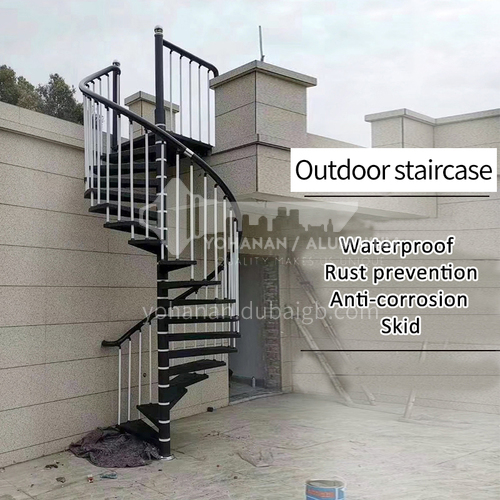 Outdoor spiral staircase XS01