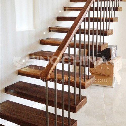 Indoor straight staircase AWD01