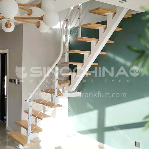 Indoor straight whole stair ZT-10