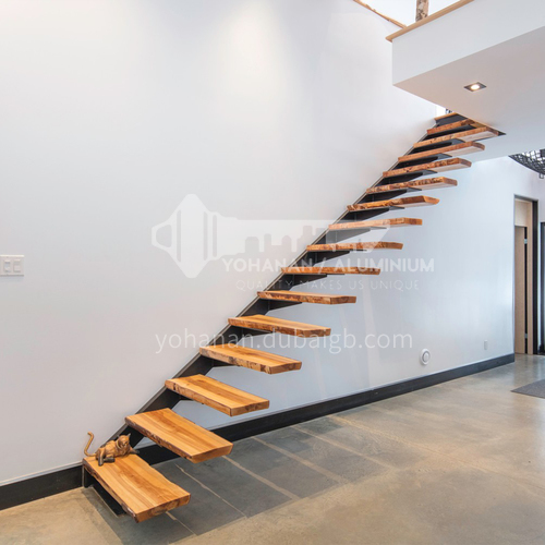 Indoor straight whole staircase ZT-13