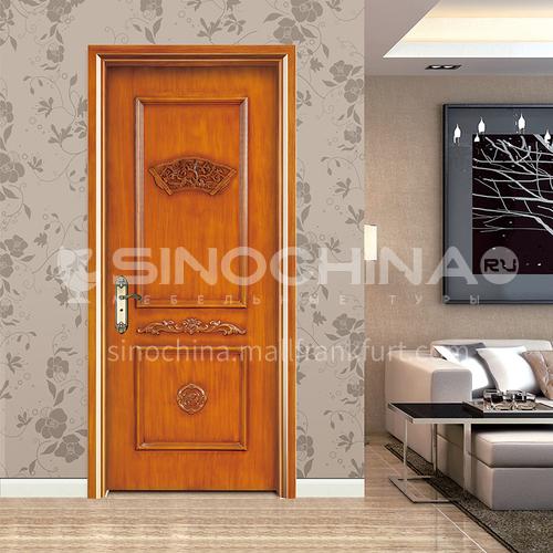 WPC wood plastic door carved painted door luxury interior door