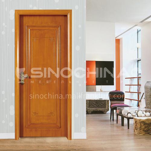WPC wood plastic paint door decoration line series modern style