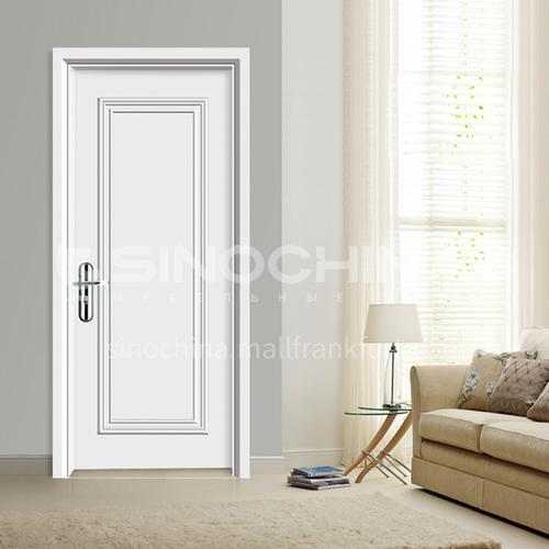 WPC wood plastic paint door simple style