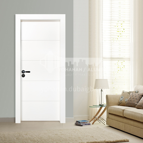 WPC wood plastic paint door modern style